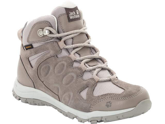 classic fit fe545 c6d6b Jack Wolfskin Rocksand Texapore Mid Shoes Damen moon rock